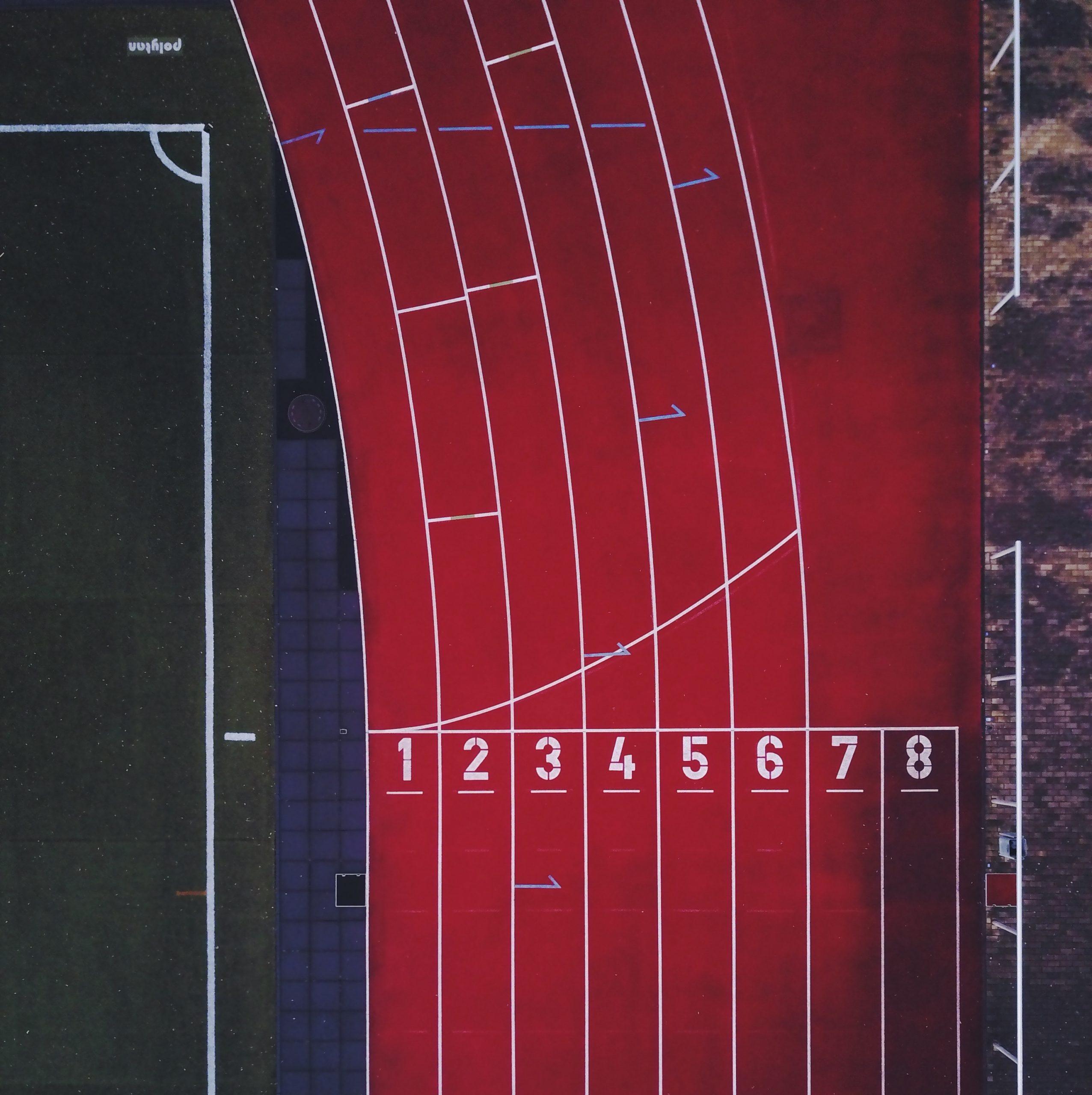 Athletics race track.